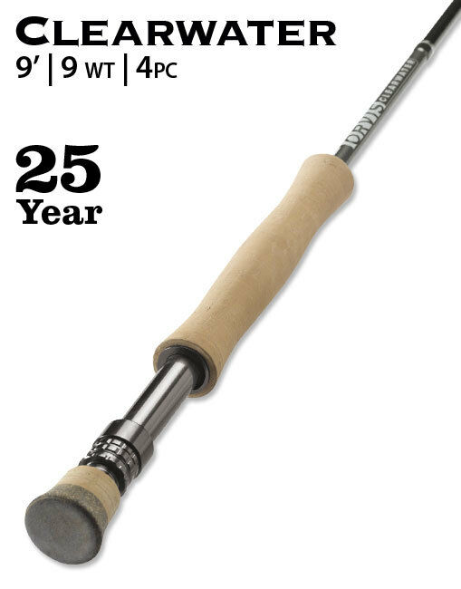 Orvis Clearwater 9-Weight  9' Fly Rod  guaranteed
