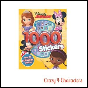 Details About Licensed Disney Junior Sticker Activity Book Christmas Birthday Gift Party