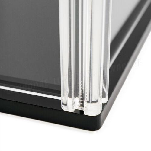 ES 40cm Altura Caso de Exhibición de Acrílico Transparente Caja Organizadora UV