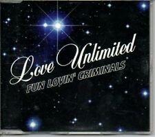 (AC952) Fun Lovin' Criminals, Love Unlimited - DJ CD