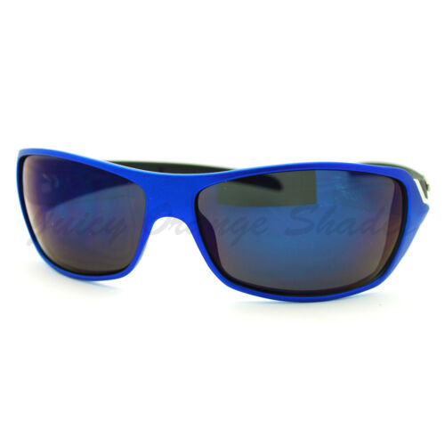 Mens X-Loop Sunglasses Sporty Wrap Around Matted Frame