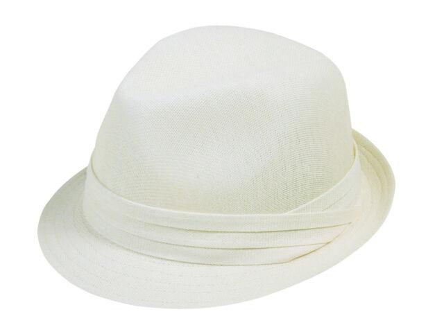 Fashion Plain Fedora Womens Fedora Hats Ivory White Sun Hat Caps 1cd4bd76a650