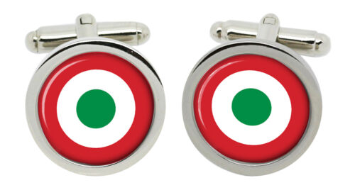 Gemelos en Caja Fuerza aérea italiana luminosa Aeronautica Militare