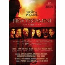 Word of Promise Scripted New Testament-NKJV (2015, Compact Disc)