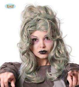 GUIRCA-Parrucca-grigia-zombie-vampiressa-halloween-carnevale-adulto-mod-4820