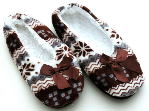 Damen Hausschuhe Damen Hausschuhe Slip On Stiefel Anti Slip Booties Größe 36-39