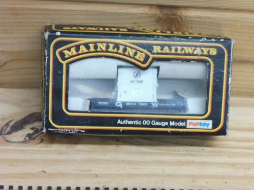 MAINLINE 37401 1 PLANK 10T WAGON+CONTAINER D,GREY GWR CONTAINER  00 GAUGE NEW L1