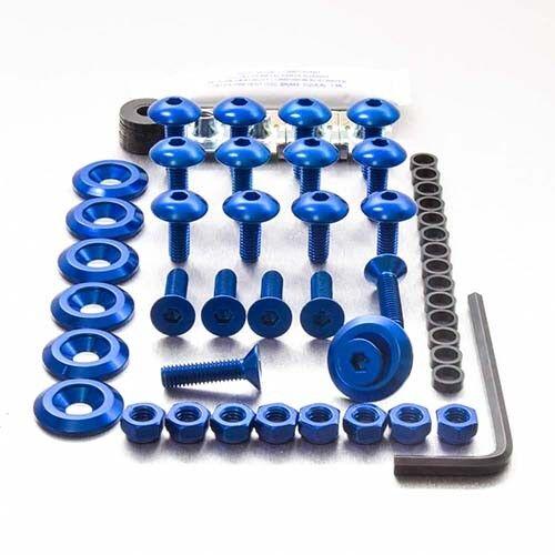 Pro-Bolt Aluminium Fairing Bolt Kit Blue FHO040B Honda VFR400 NC30 89-94