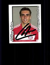 Philipp Lahm Bayern München Panini Sammelbild 2008-09 Original Signiert+A 152966
