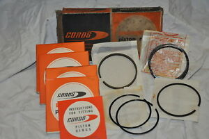 HILLMAN-SUNBEAM-SINGER-KOLBENRINGSATZ-PISTON-RING-SET-STD