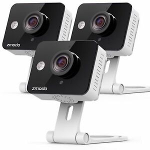 Zmodo-3-Wireless-Smart-IP-WiFi-HD-IR-Cut-Home-Security-Camera-720P-Two-Way-Audio