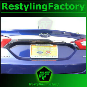 FIT-FOR-13-15-FORD-FUSION-REAR-TRUNK-TAILGATE-CHROME-TRIM-LID-COVER-MOLDING