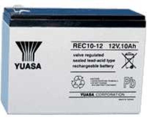 Yuasa Rec1012, 12v 10ah come 7ah & 9ah Esca Barca Batteria  45% More Time