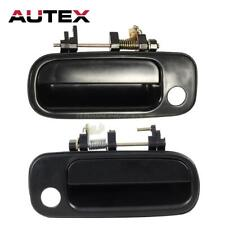 Exterior Front LH Driver /& RH Passenger Door Handle For 1993-1996 TOYOTA CAMRY