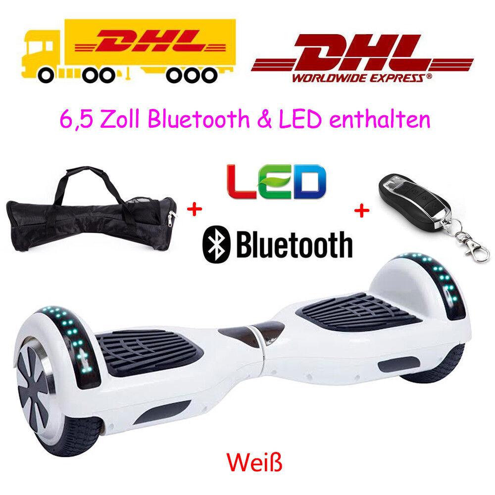 Skateboard Balance 6,5 Zoll Elektroroller E-Scooter Balance Skateboard Roller Mit Tasche Blautooth 1e4fc0
