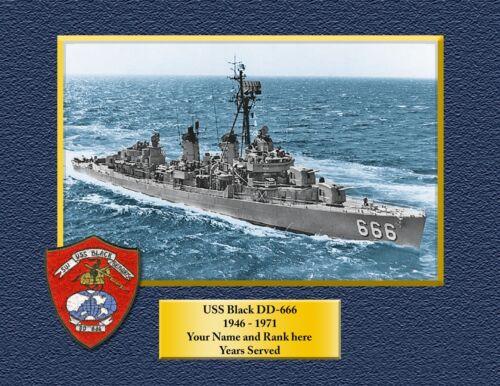 USS BONHOMME RICHARD LHD6 Custom Personalized Print of US Navy Ships Gift
