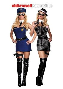 Get a Clue Police CSI Costume Dreamgirl 8881 sizes sm med lg and xl