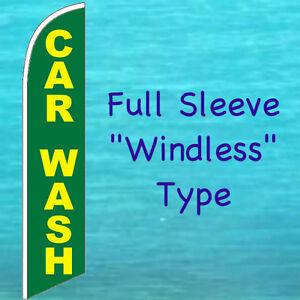 POLE MOUNT KIT Car Wash Advertising Sign Swooper Banner DETAILING FLUTTER FLAG