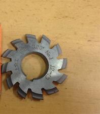 Set 8pcs Module 2 Pa20 Bore22 12345678 Involute Gear Cutters M2