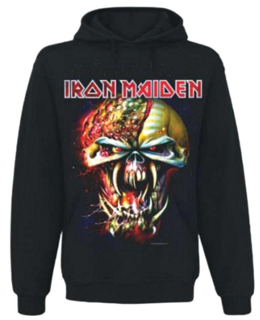 Iron Maiden 'Final Frontier großer Kopf' Pull Over Hoodie - NEU UND OFFIZIELL
