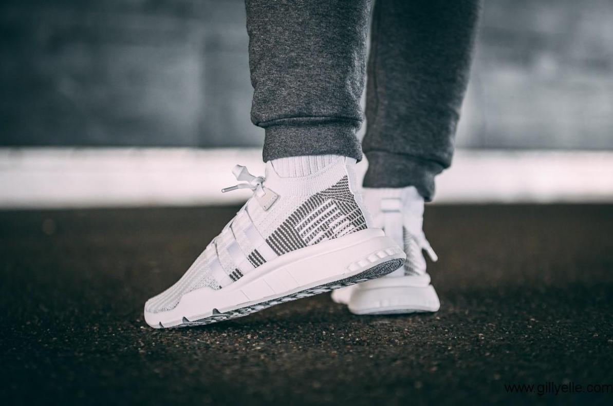 Adidas eqt equipment support adv mid footwear Weiß grau grau grau one UK 10 c5e4e6