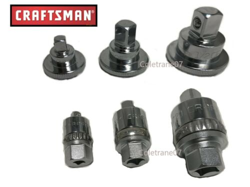 New Craftsman Ratchet Spinner Disks /& Breaker Bar Ratchet Adapters Fast Shipping