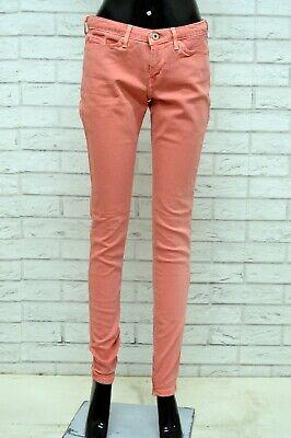 Indipendente Jeans Pantalone Slim Fit Donna Levi's Taglia Size W 29 L 34 Pants Woman Skinny Ridurre Il Peso Corporeo E Prolungare La Vita