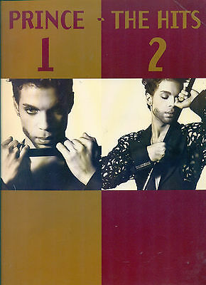 PRINCE songbook THE HITS 1 & 2 sheet music book 36 songs Artist Revolution 200pp
