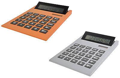 Entusiasta Maxi Calcolatrice Tavolo Display Reclinabile Doppia Alimentazione 21 X 29 Cm
