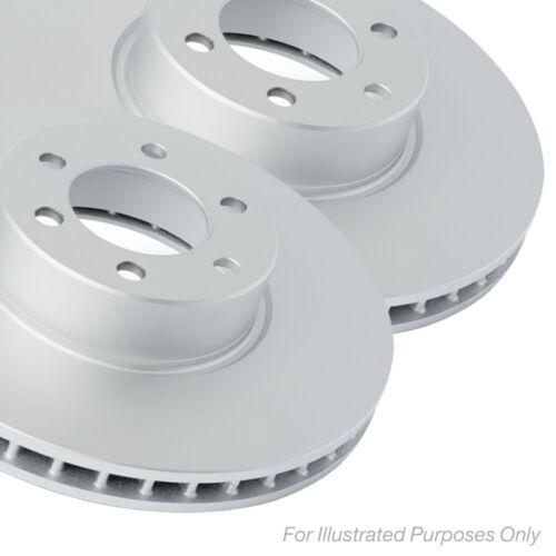 Fits Nissan Navara 2.3 dCi 4x4 Mintex Front Coated Vented Brake Discs Set