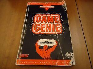 <b>Sega Genesis Game Genie</b> Programming Manual and <b>Code</b> Book ONLY | eBay
