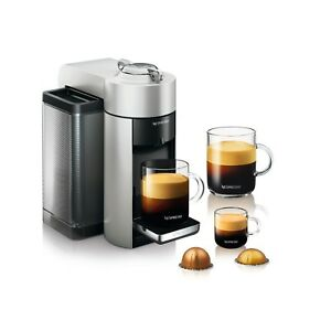 Nespresso Evoluo Deluxe Silver - Espresso & Coffee Machine