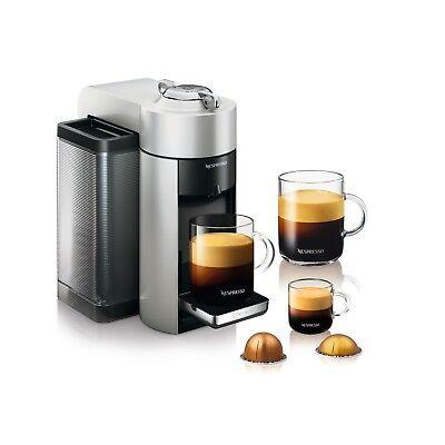 Nespresso Evoluo Deluxe Silver - Espresso & Coffee Machine GCC1REF