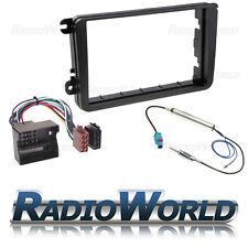VW Golf MK5 MKV Double Din Stereo Fitting Kit Facia/Wiring/Adaptor Fascia Panel