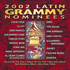 2002 Latin Grammy Nominees by Various Artists (CD, Sep-2002, WEA Latina)