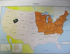 Topo Map Card For Garmin Astro 220/320 Micro Sd North East US
