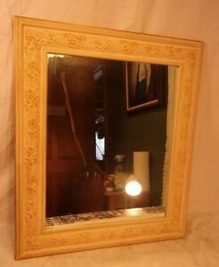 Vintage French Provincial Mirror 22x26 Mirror 16x20 Molding 3 1 4