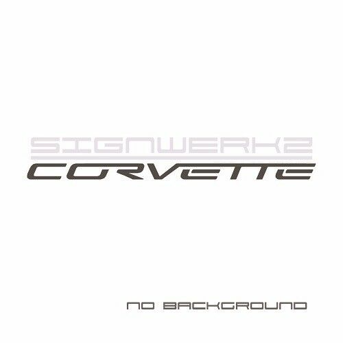Corvette Decal Sticker American chevrolet stingway z06 Pair