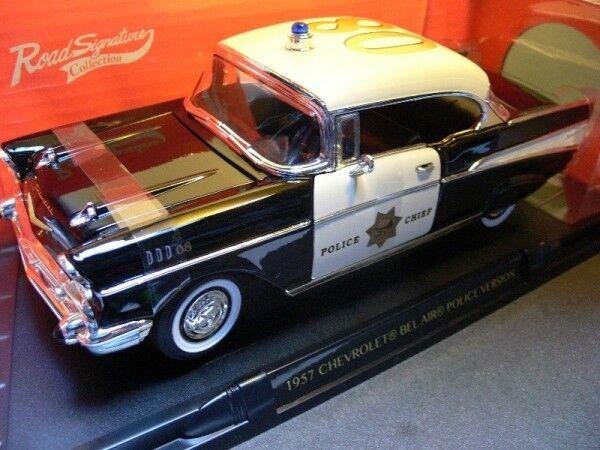 1 18 Yat Ming Chevrolet Bel Air Police 1957 302805