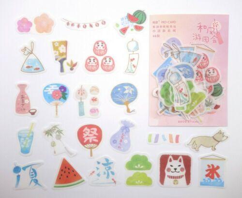 Matsuri Daruma dolls Shiba Inu furin fans sake Japanese festival sticker flakes