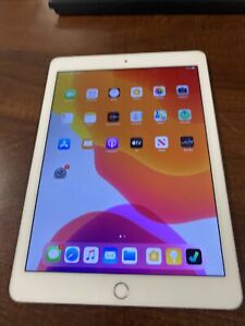 Apple IPAD Air 2 16GB,Wi-Fi,9.7in - Argent Très Occasionnellement A Ghost Touch