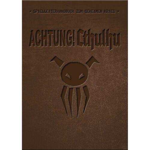 LIMITIERTE AUSGABE SPIELLEITERHANDBUCH 1A-Ware ACHTUNG!CTHULHU