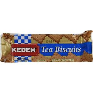 Kedem Tea Biscuits, Plain, 4.2-Ounce Packages (Pack of 24 ...