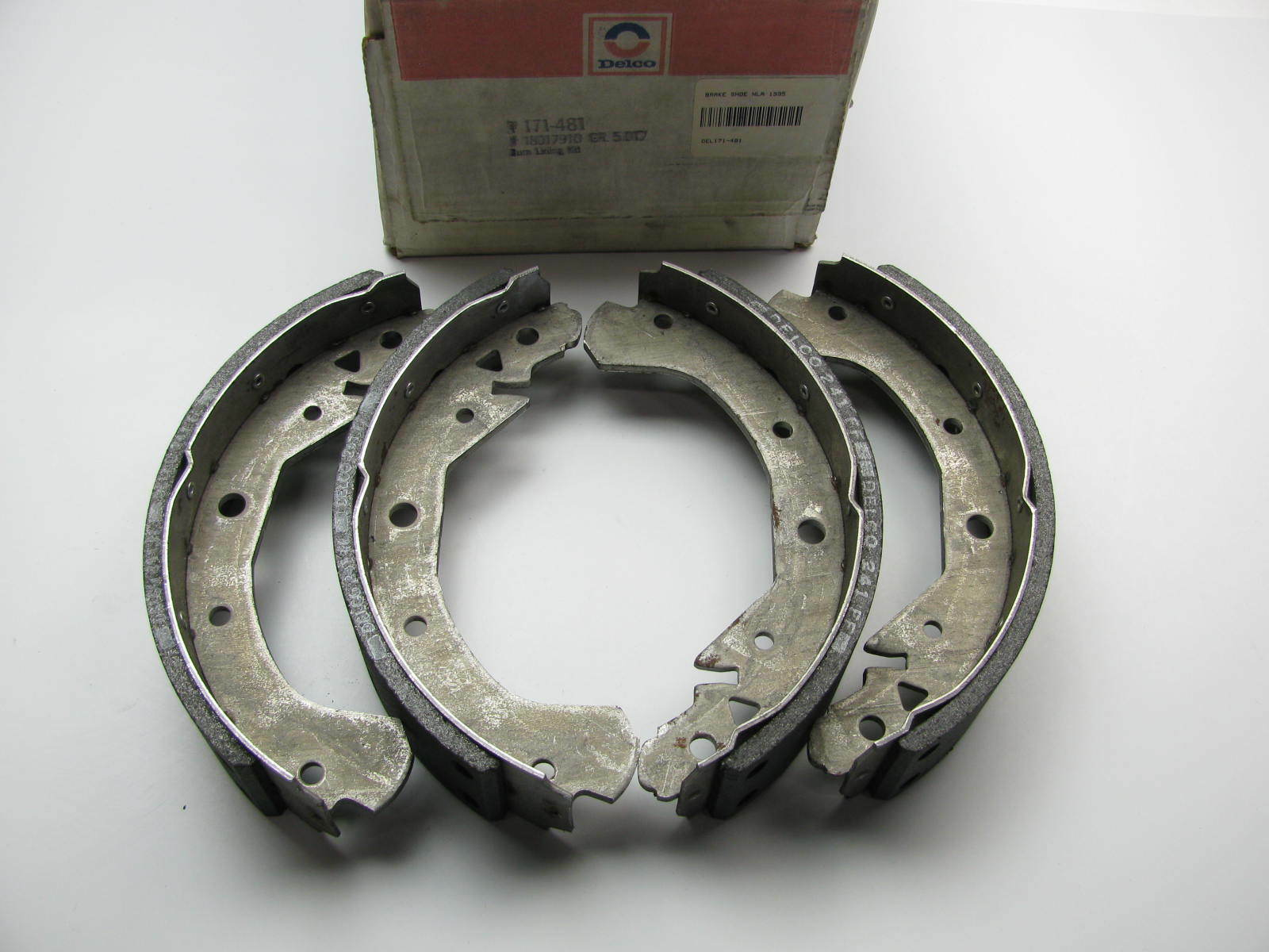 AcDelco 171-481 NOS OEM GM 18017910 Rear Drum Brake Shoes