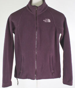 The-North-Face-Women-039-s-Fleece-Full-Zip-Up-Jacket-Size-XS