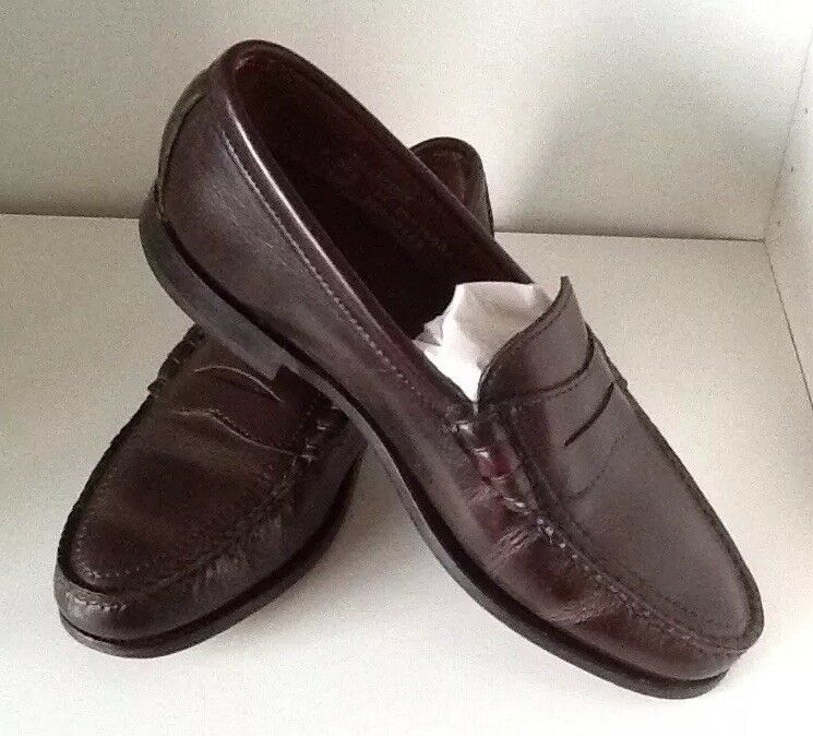 564b064b406a4 Excellent Quality Oxblood Loafers, leather In U.S.A. soles. Made ...