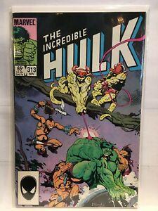 Incredible-Hulk-Vol-1-313-F-VF-1st-Print-Marvel-Comics