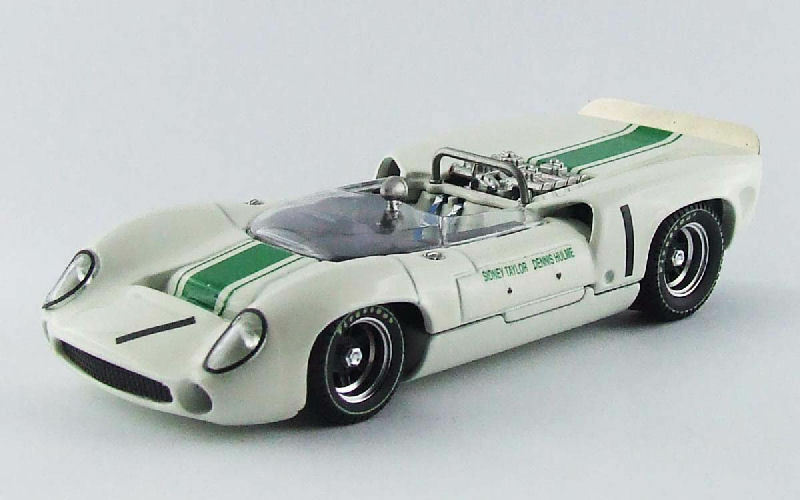 Lola T70 Spyder Winner Mallory Park 1966 D. Hulme 1 43 Model BEST MODELS
