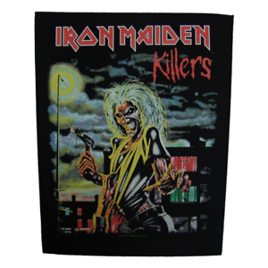 Printed Small Patch New IRON MAIDEN First Album