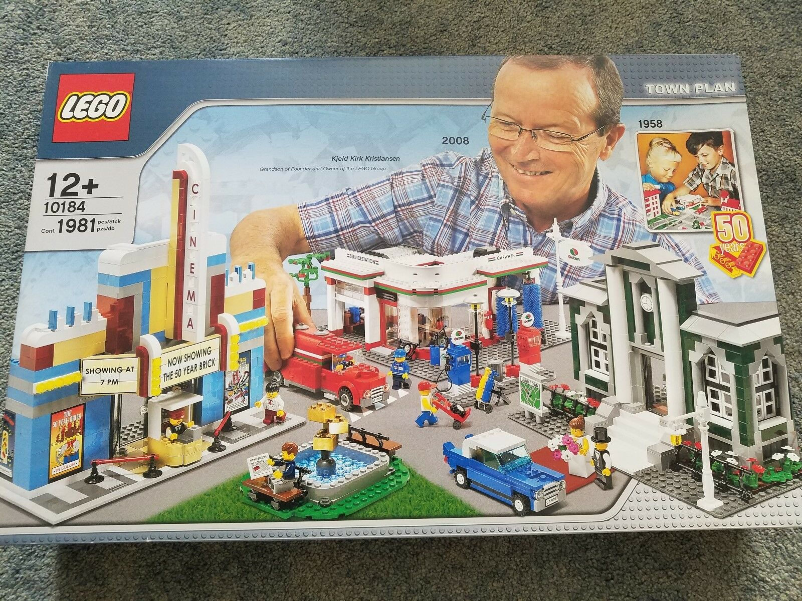 Lego 10184 Town Plan 50th Aniversario Nuevo En Caja Sellada retirado